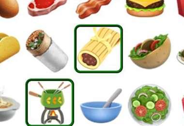 Algunos de los emojis nuevos