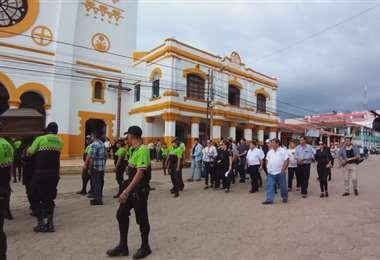 El sepelio se realizó en Trinidad, ciudad de la que Ribera fue alcalde