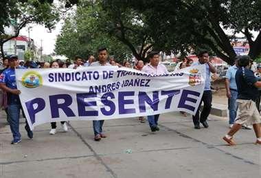 Los transportistas piden una ley consensuada. (Foto: Leyla Mendieta)