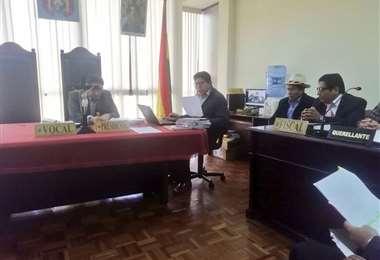 La exministra no se presentó a juzgados de La Paz I Foto: Fondo Indígena.