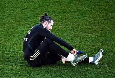 Gareth Bale es baja en el Real Madrid. Foto: AFP