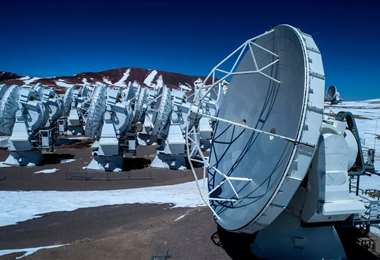 El radiotelescopio ALMA. Foto Internet