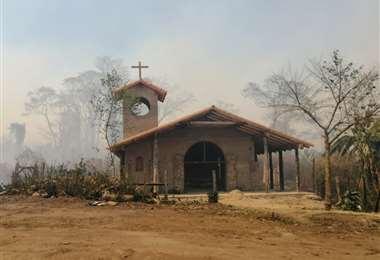 El fuego acecha en comunidades de Postrervalle