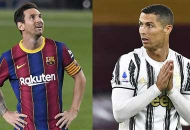 Messi y Cristiano tendrán un duelo especial. Foto: AFP
