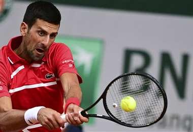 Djokovic le ganó al lituano Berankis. Foto: AFP
