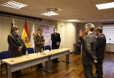 Posesión de las nuevas autoridades del Ministerio de Economía.