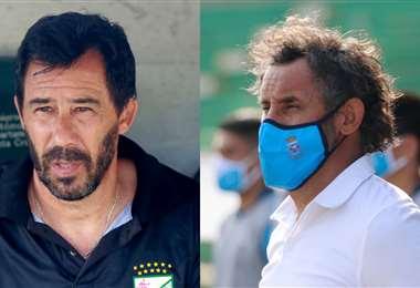 Sánchez y Ponce se alistan para un nuevo duelo. Foto: EL DEBER