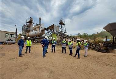Inspeccionaron las áreas industriales en los campamentos de las contratistas