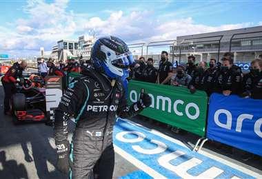 Valtteri Bottas corre para la escudería Mercedes.  Foto: AFP