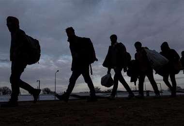 Los migrantes son magrebíes y subsaharianos