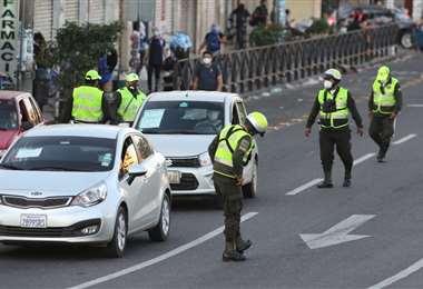 La Policía velará por el orden y control en las calles. Foto: Jorge Gutiérrez