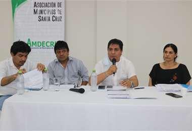 Los municipios exige el desembolso de recursos/Foto: Amdecruz