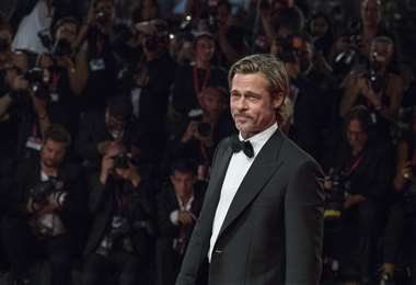 Cuando Brad Pitt recibió el Óscar, en febrero, lució un esmoquin de esta marca italiana
