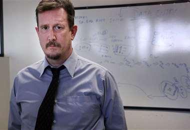 El profesor Mark Pandori. Foto Internet