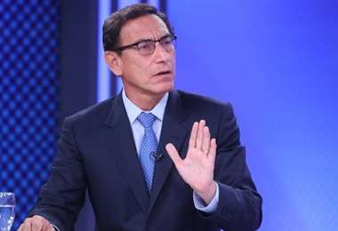 El mandatario peruano. Foto Presidencia