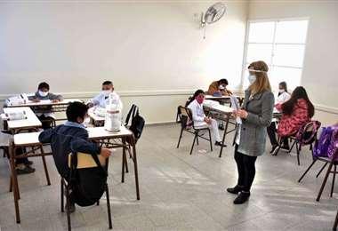 Los alumnos vuelven a los colegios. Foto Internet