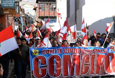 Comcipo es la máxima organización cívica de los potosinos. Foto. David Maygua