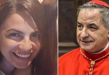 Cecilia Marogna era presentada como sobrina del cardenal Becciu. Foto Internet