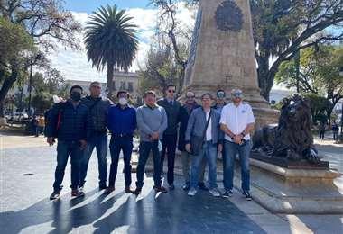 El Comité Pro Santa Cruz y grupos que lo apoyan, no se moverán de la capital.
