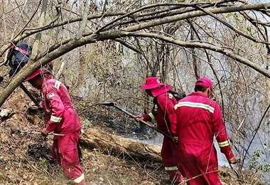 Incendio en Yacauiba