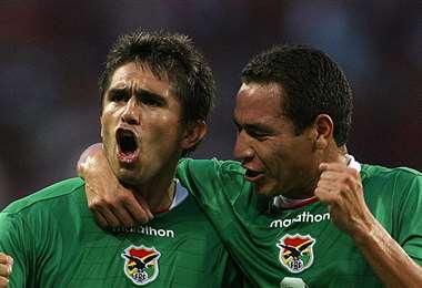 Moreno, delantero histórico de la selección. Llegó a jugar con la Verde el Mundial USA 94