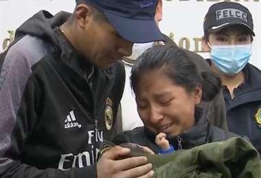 La madre de la bebé Samanta aún siente temor.