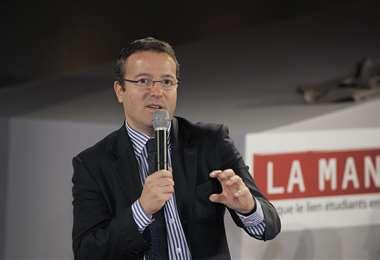 Martin Hirsch, jefe de los hospitales de París. Foto Internet