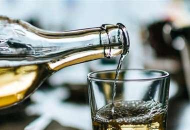 El licor adulterado mata. Foto referencial