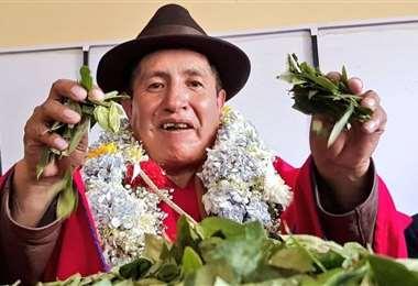 El político aymara es cercano al Gobierno transitorio