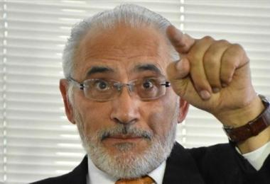 Carlos Mesa, candidato de Comunidad Ciudadana.