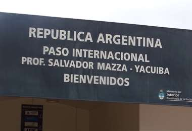 Frontera Bolivia- Argentina