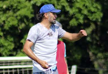 Miguel Ponce, exDT de Blooming. Foto: Club Blooming
