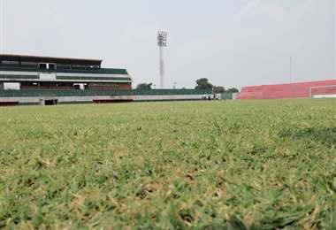 Así luce el estadio Gilberto Parada de Montero. Foto: SDD