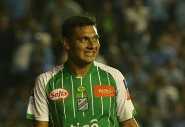 José Castillo, delantero de Oriente Petrolero. Foto: internet