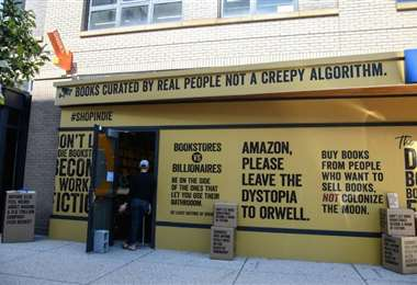 La protesta de las librerías en Estados Unidos. Foto Internet