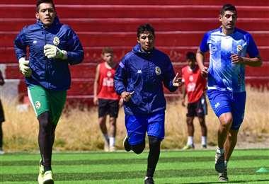 El plantel lila retomó este miércoles los entrenamientos. Foto: club R. Potosí