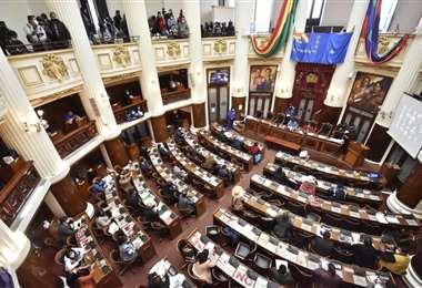 Sesión de diputados y senadores I APG.