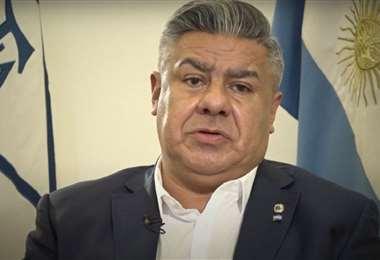Claudio Tapia, presidente de la Asociación del Fútbol Argentino. Foto: internet