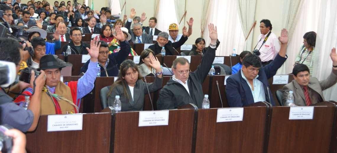 La primera Asamblea en Sucre (Foto: Marco Chuquimia)