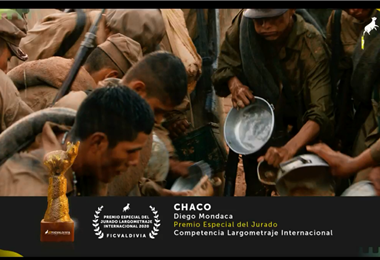 """Así se anunció el premio para """"Chaco"""" en la clausura del festival de cine"""