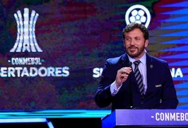Alejandro Domínguez, presidente de la Conmebol. Foto: internet