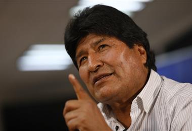 Evo Morales, expresidente de Bolivia. Foto. Internet