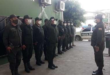 Los uniformados estarán resguardando la paz durante las elecciones.