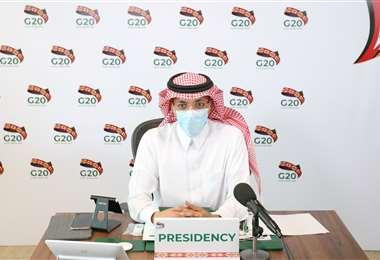 El ministro de Finanzas saudita. Foto Internet