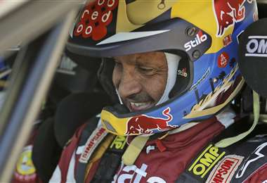 Nasser Al-Attiyah espera con ansias sus competencias. Foto: AFP