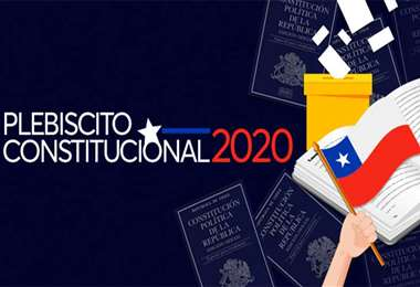 El plebiscito será el 25 de octubre. Foto Internet