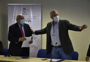 Saavedra asume la presidencia del BCB. Foto APG