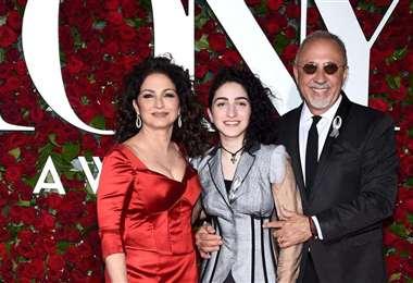 Gloria, Emily y Emilio Estefan forman una familia de artistas con mucho éxito