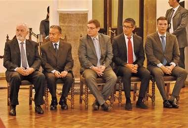Los directores del Banco Central fueron posesionados en diciembre/APG Noticias