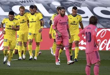 El único gol del partido lo anotó Anthony Lozano. Foto: AFP